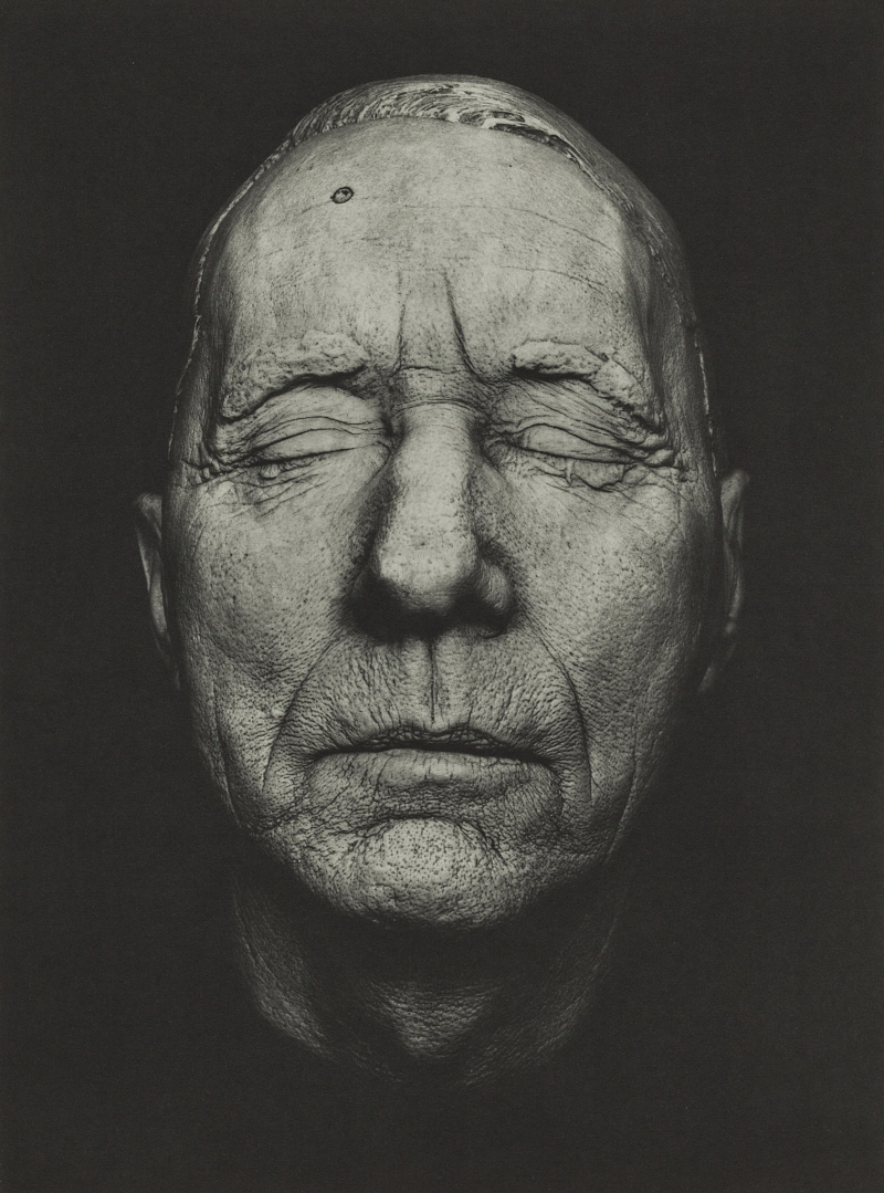 Untitled (Death Mask) from the series Spiritus Sanctus