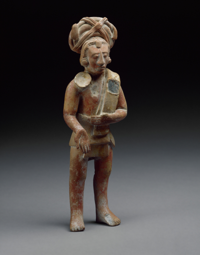 Jaina-style Figure of a Standing Ballplayer