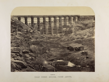 Dale Creek Bridge, from above