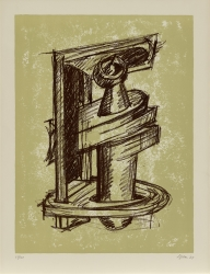 Print from Study for Sculptures