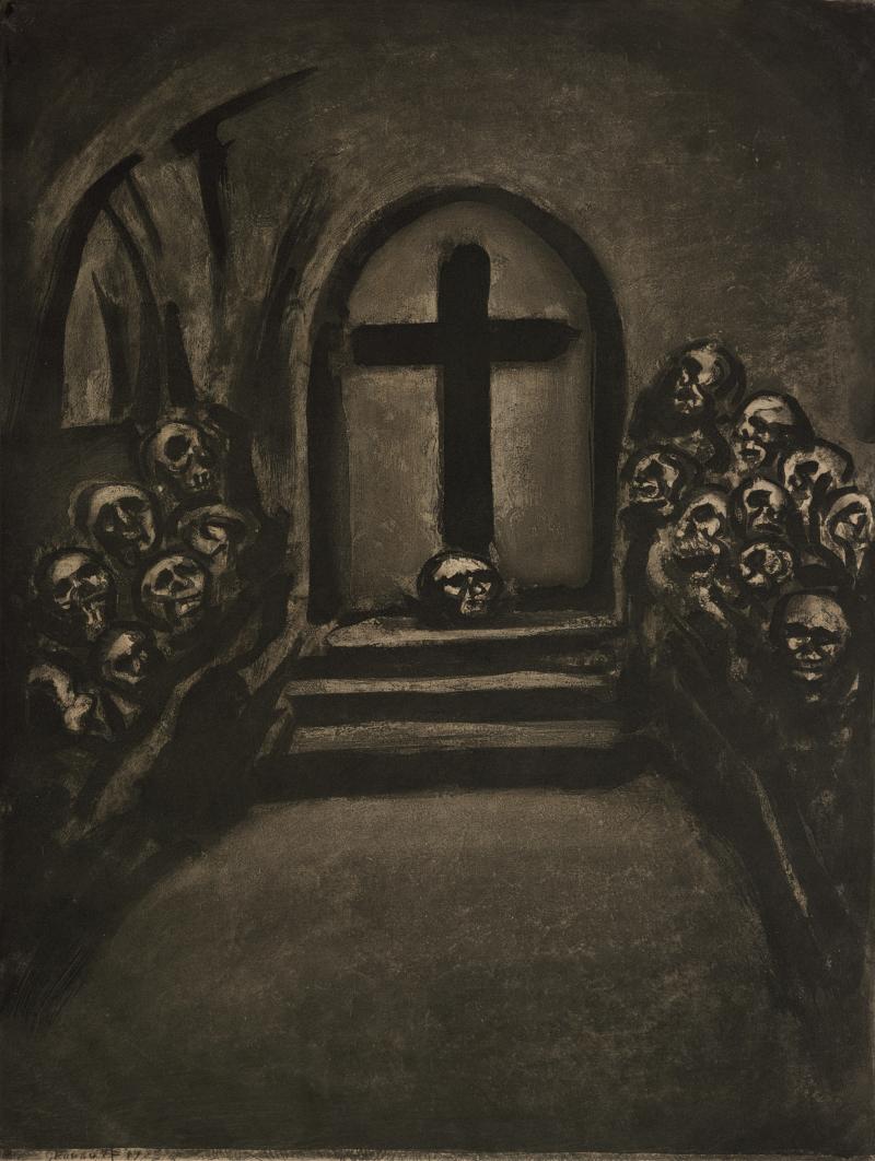 Celui Qui Croit en Moi, Fut-il Mort, Vivra; from Folio Miserere