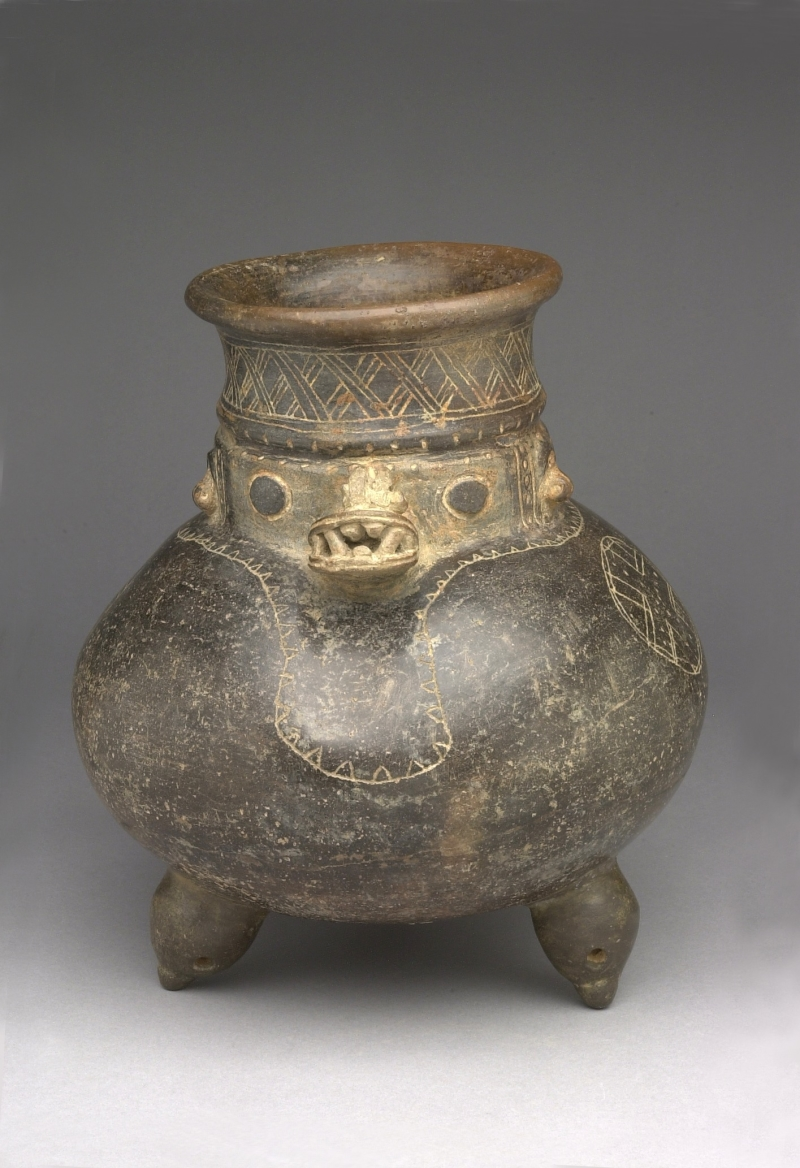Crocodile-Man Tripod Jar