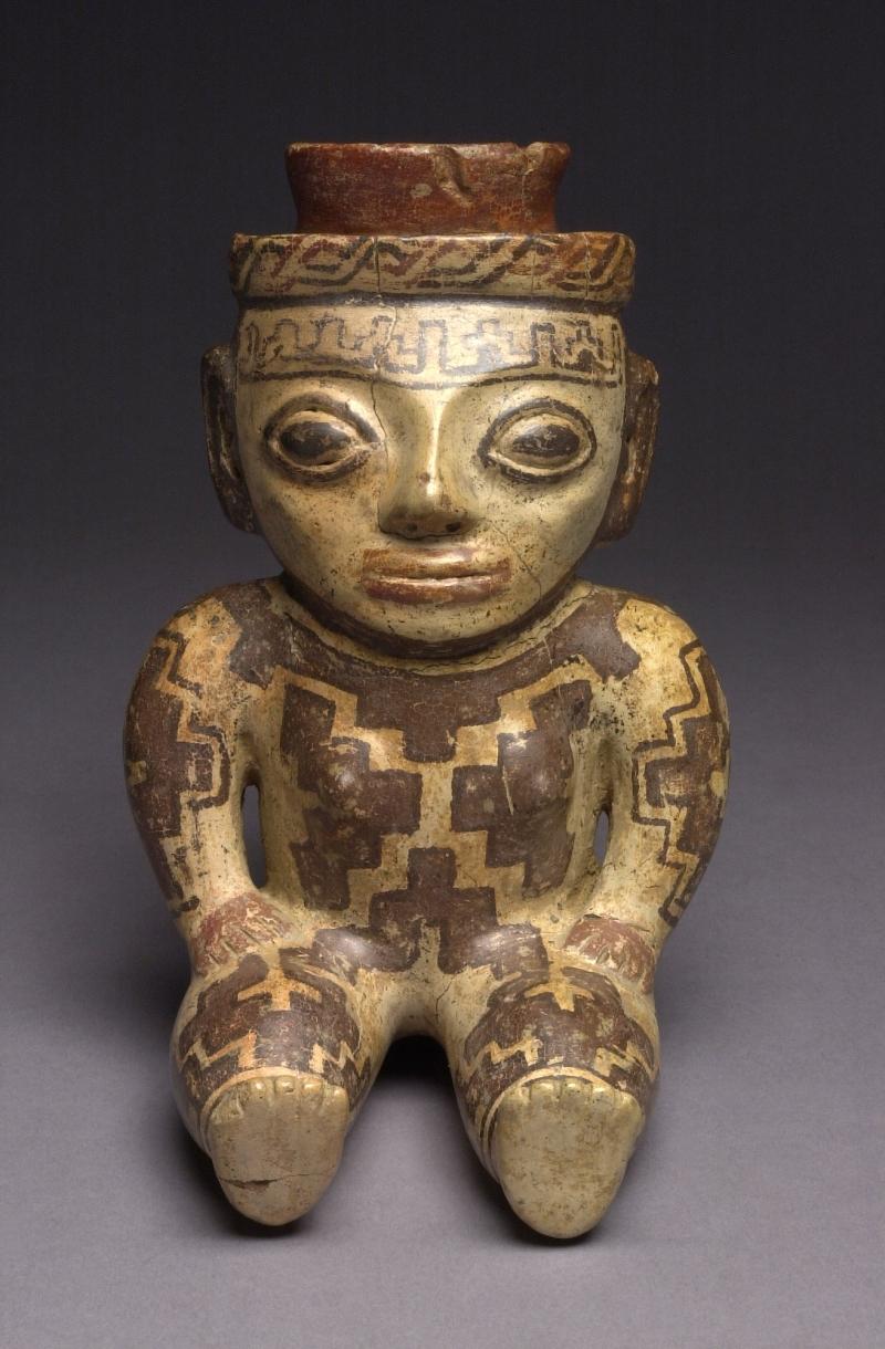 Seated Female Figurine