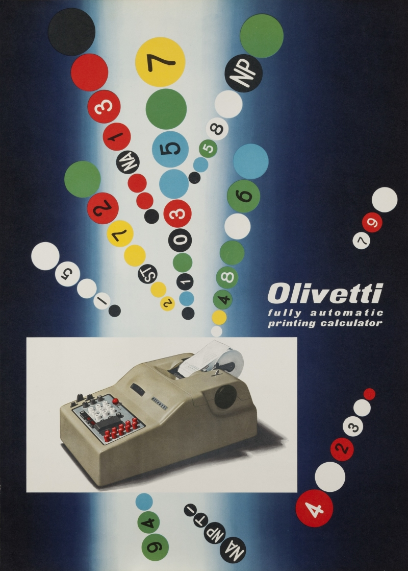 Olivetti Fully Automatic Printing Calculator