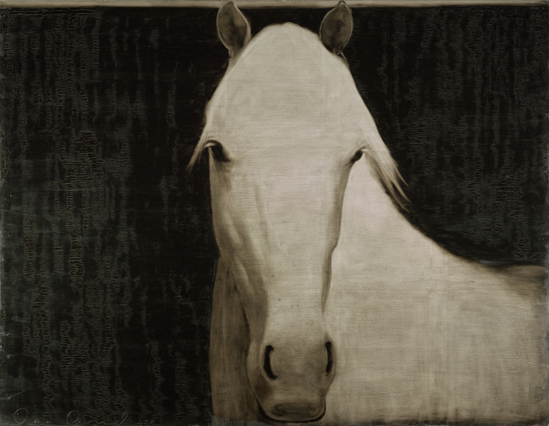 Untitled (Horse in Landscape)