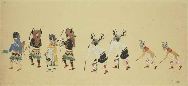 Buffalo Deer and Antelope Dancers