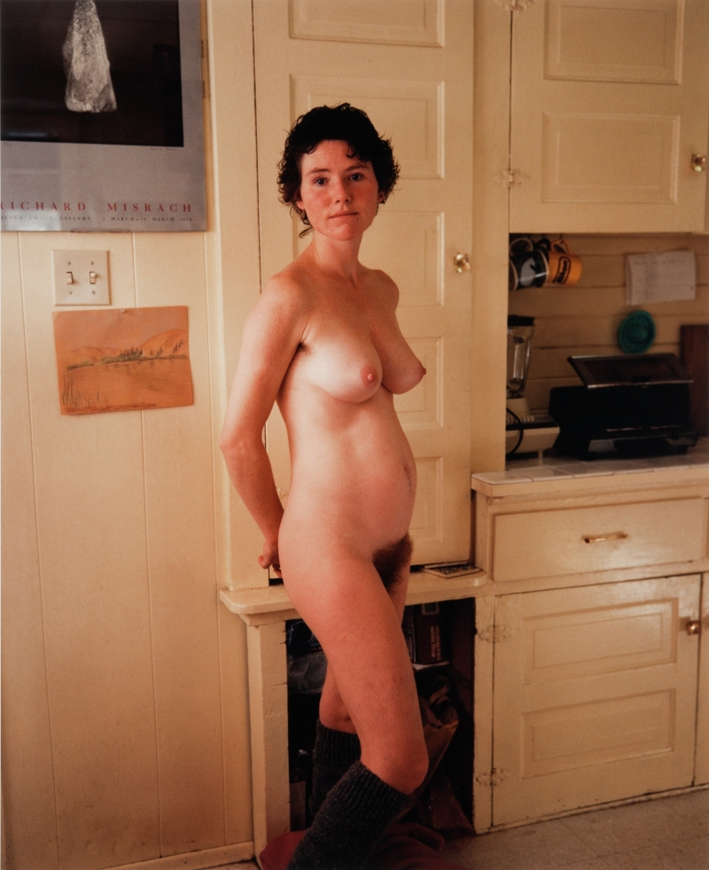 Pamela, Pregnant, with 'Botticelli Belly', Seattle