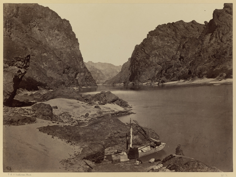 Black Cañon, Colorado River, Looking Above from Camp 7