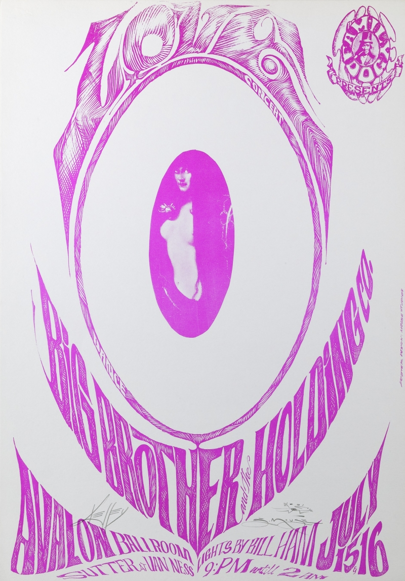 Odd One; Love, Big Brother and the Holding Company, Avalon Ballroom, 7/15-16/66