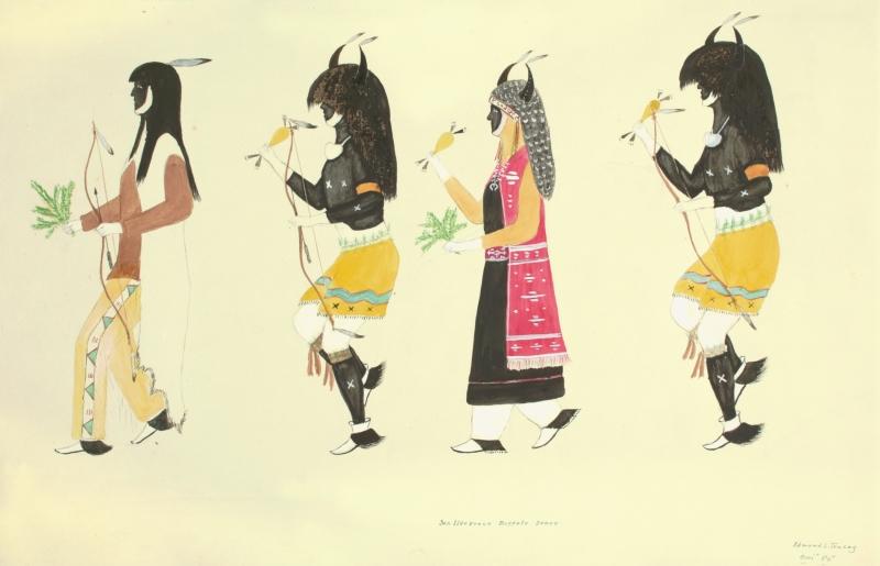 San Ildefonso Buffalo Dance