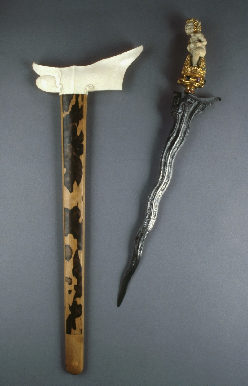 Kris (dagger) with Scabbard