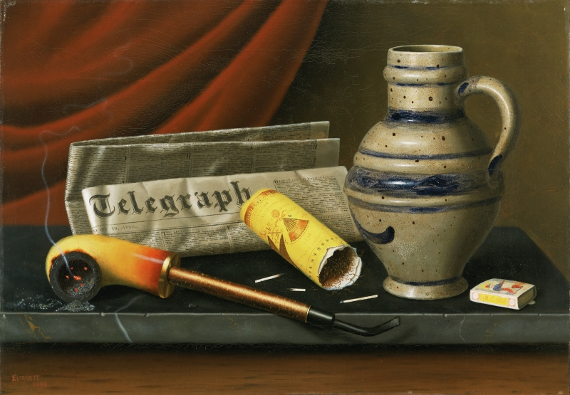 Still Life with the Telegraph