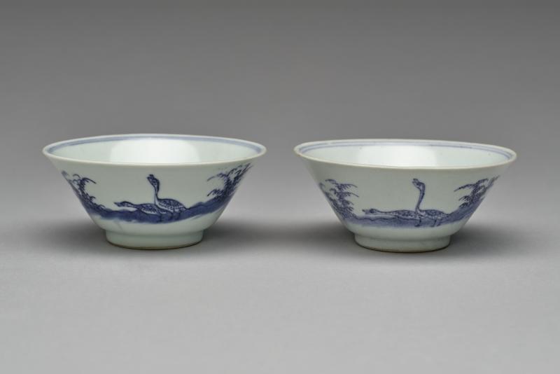 pair; bowl
