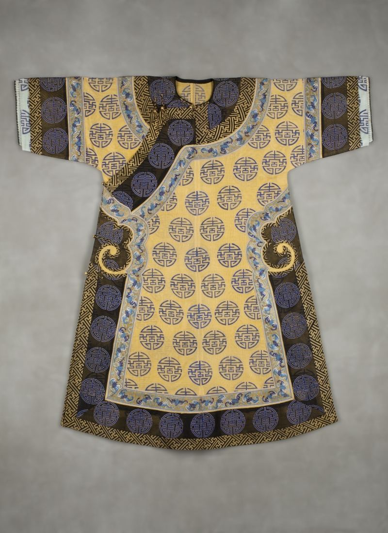 Manchu Woman's Informal Robe