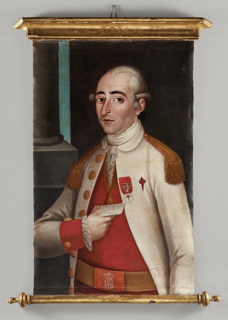 Portrait of Captain Antonio José Clemente de Aróstegui