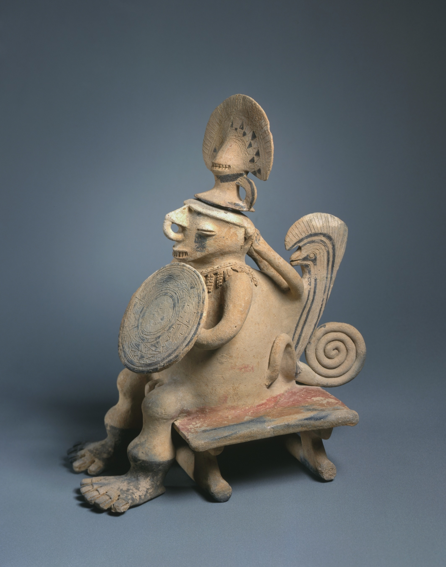 Figure Seated on a Bench