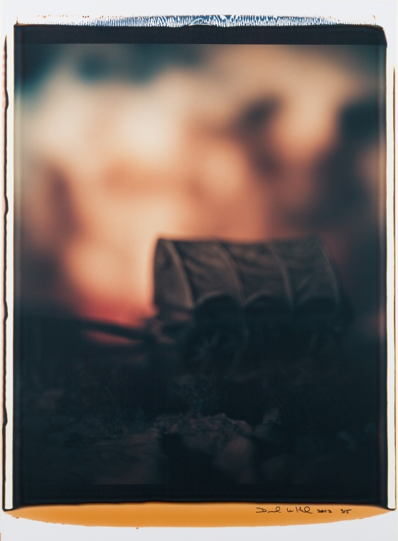 Untitled (Covered Wagon at Nightfall)