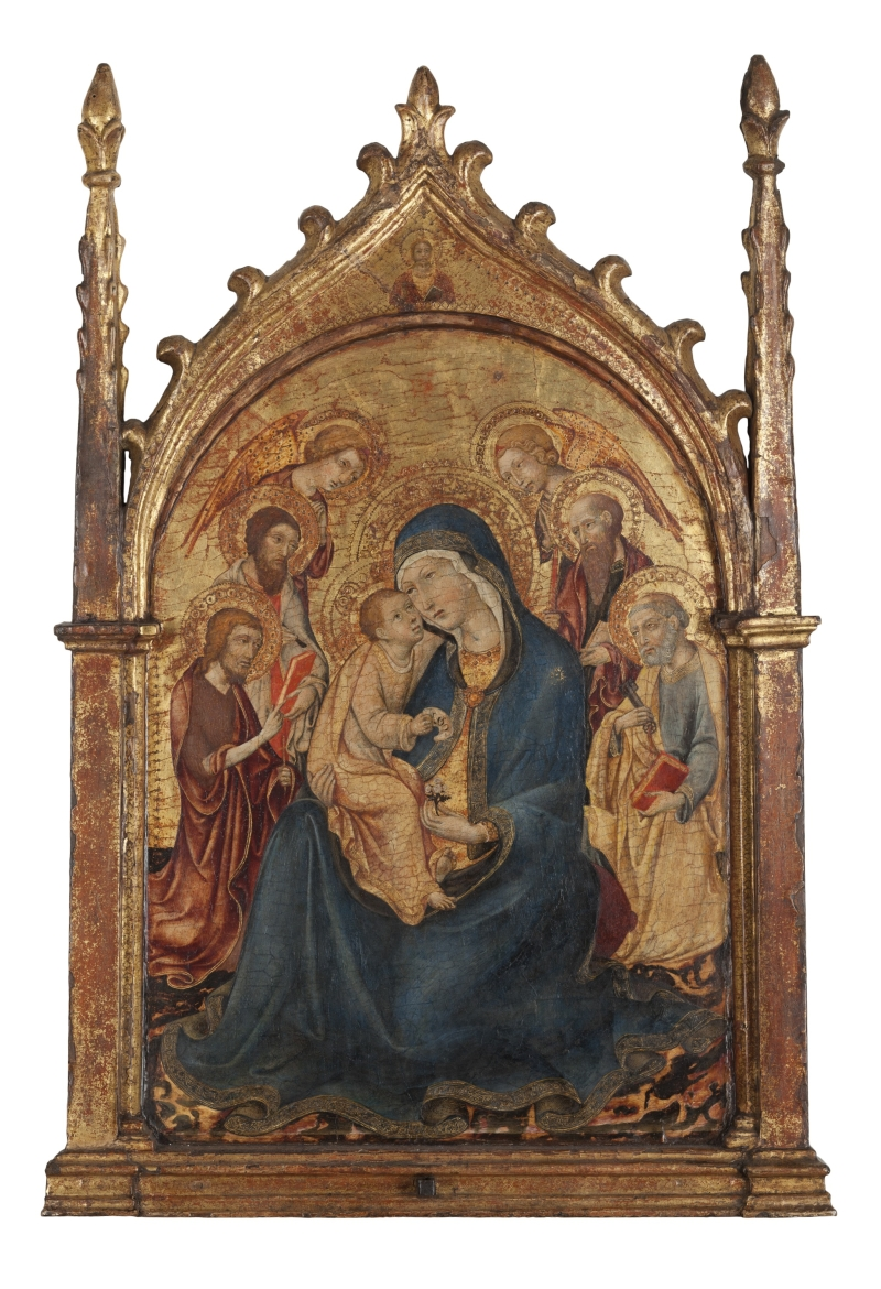 Madonna and Child with Saints