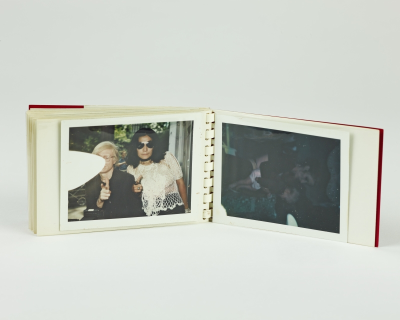 Ono, Yoko and Andy Warhol from Little Red Book #176