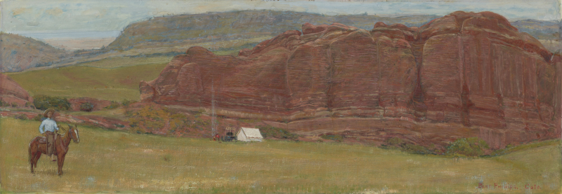 Camp at Red Rocks