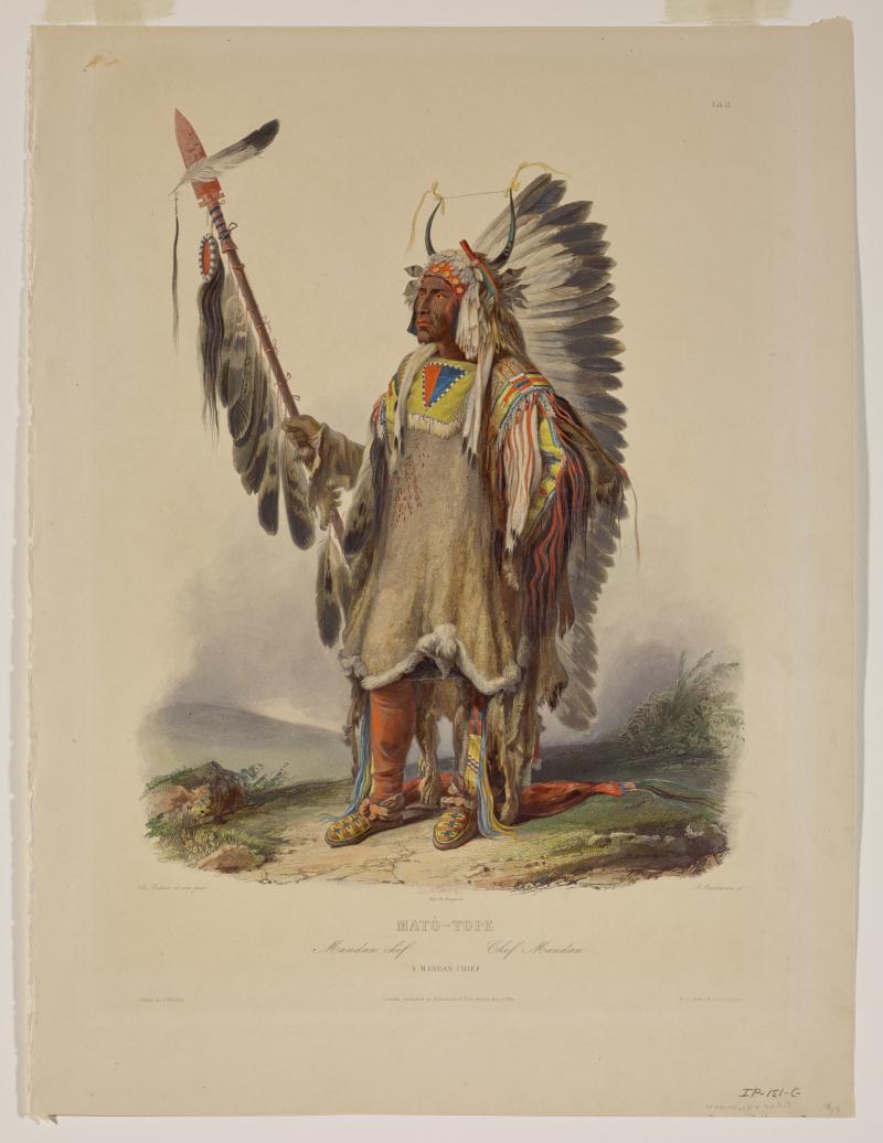 Mato-Tope, A Mandan Chief