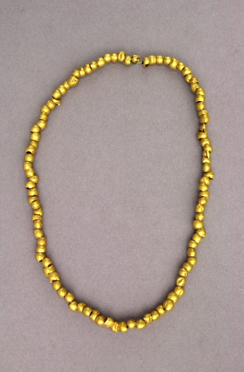 Necklace of Gold Beads