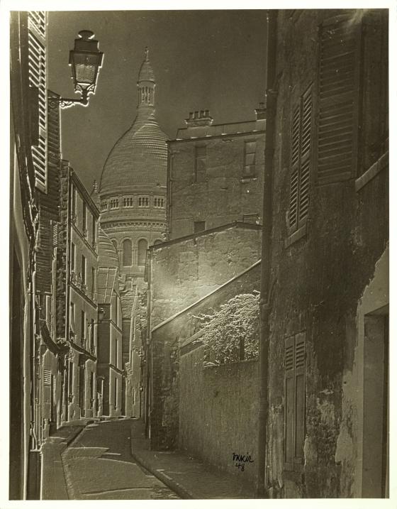 Untitled (Parisian Street Scene)