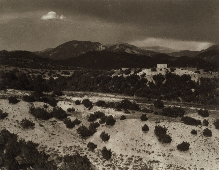 House, Dark Hill and Mesquite, Taos