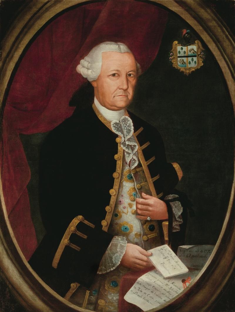 Portrait of José Antonio Gelabert y Garcés