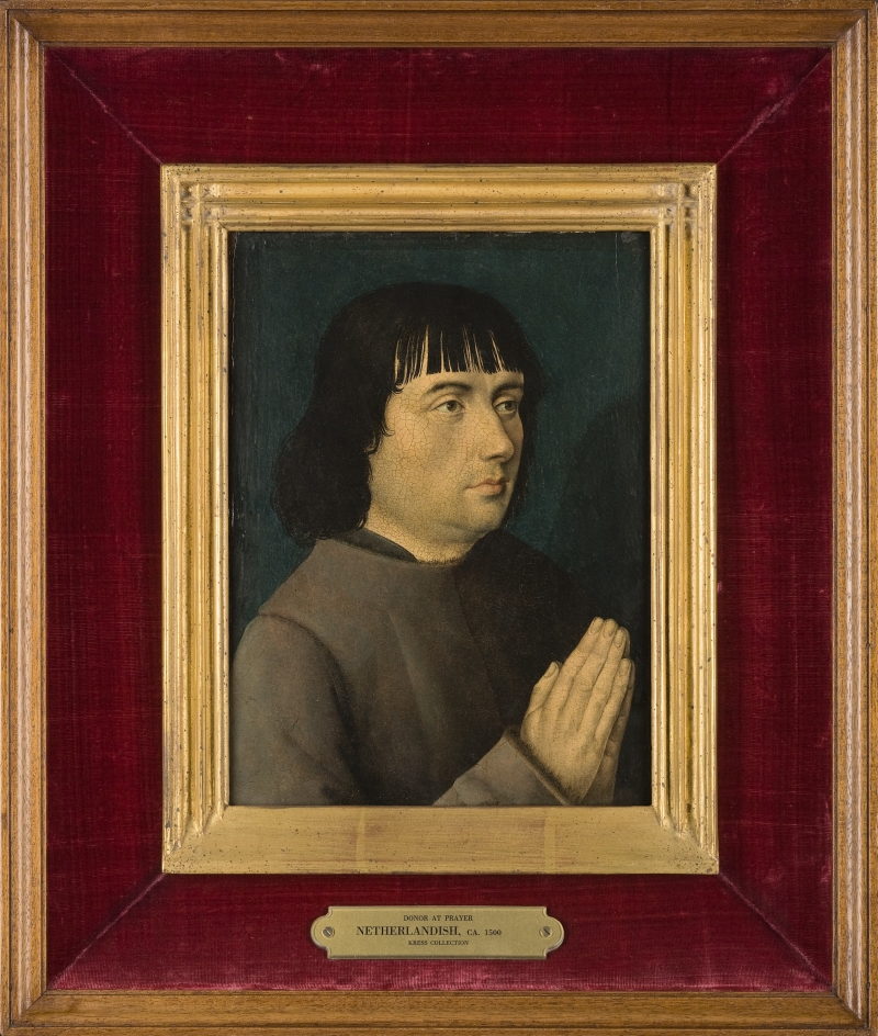 Portrait of a Praying Man