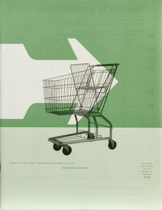Emigre 49: The Everything Is For Sale Issue