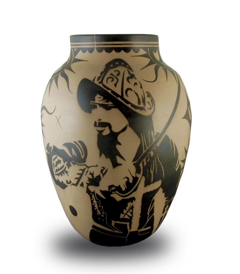 Untitled (Conquistador/Castilian Jar)