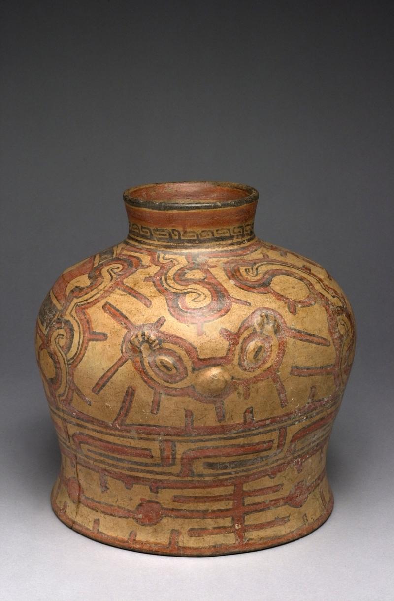Jar with Wide, Pedestaled Ring Base