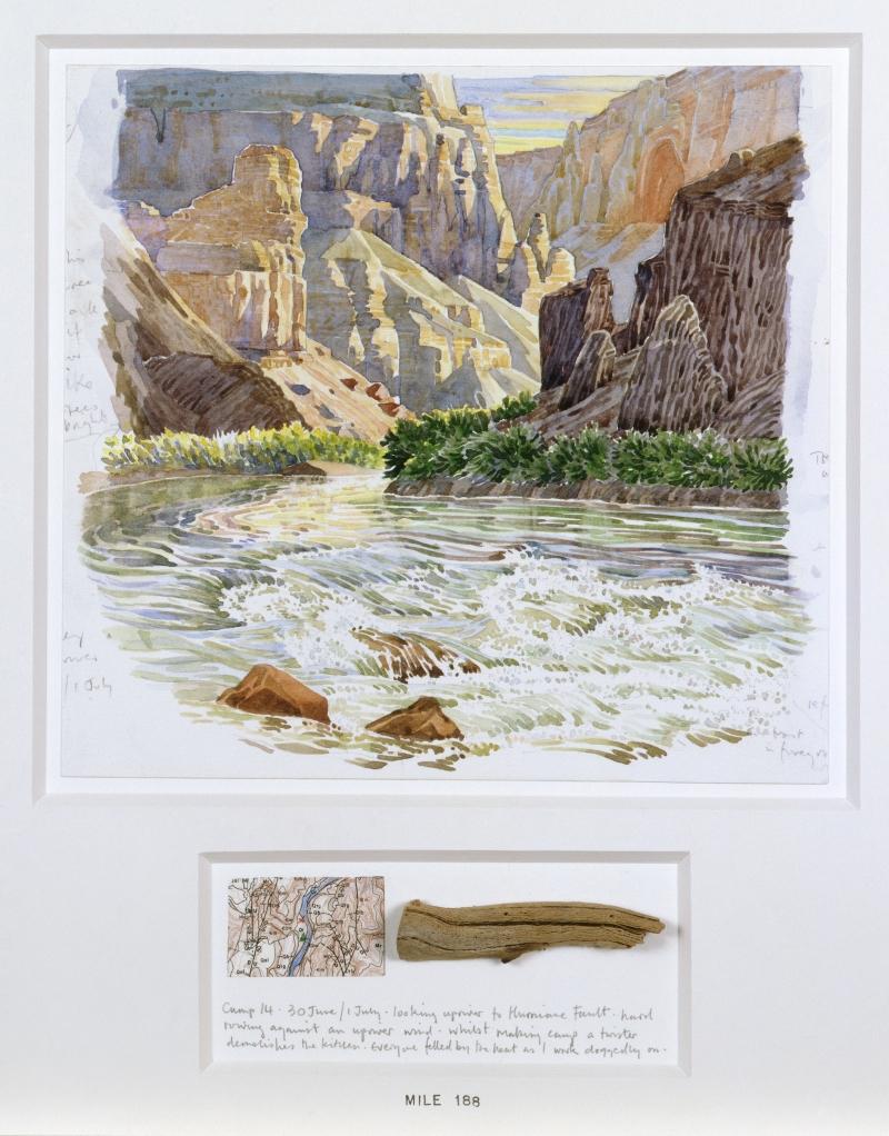 16 Days Rafting the Colorado/225.8-miles Lee's Ferry to Diamond Creek