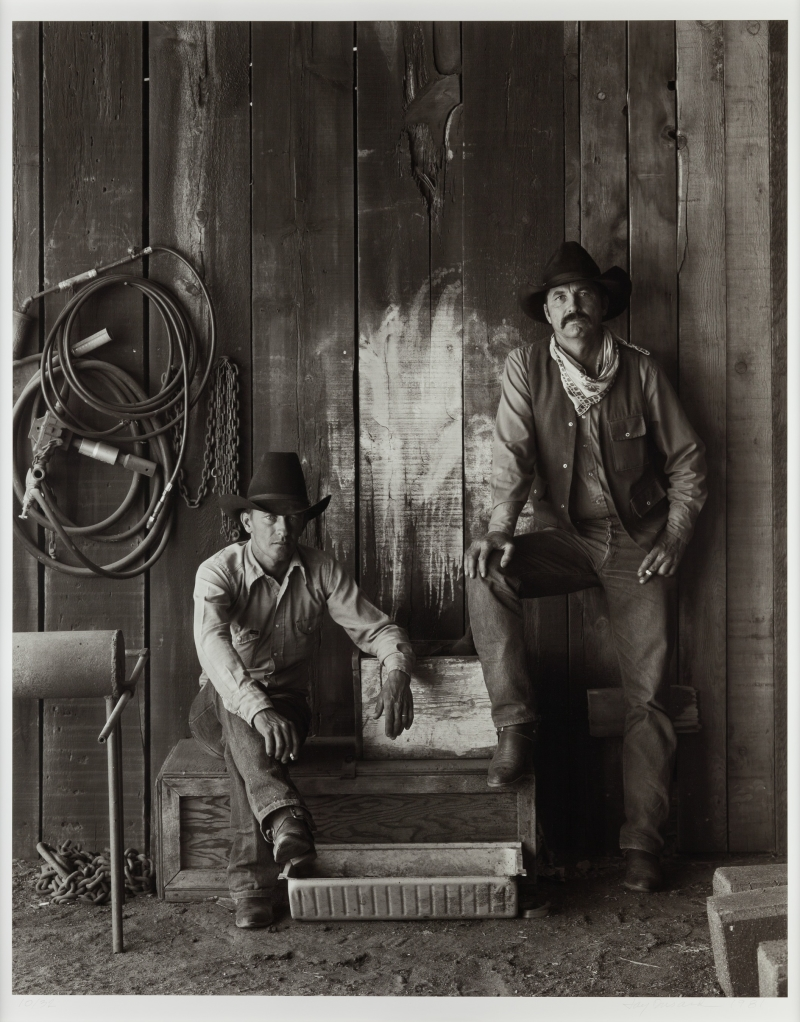 Buster Scarbrough and Bob Pulley, A Bar V Ranch, Arizona