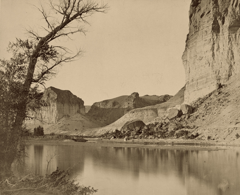 Scene on the Green River, Wyoming