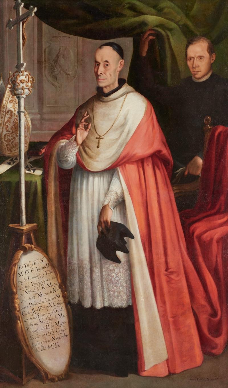 Portrait of Don Francisco José Pérez de Lanciego y Eguilaz