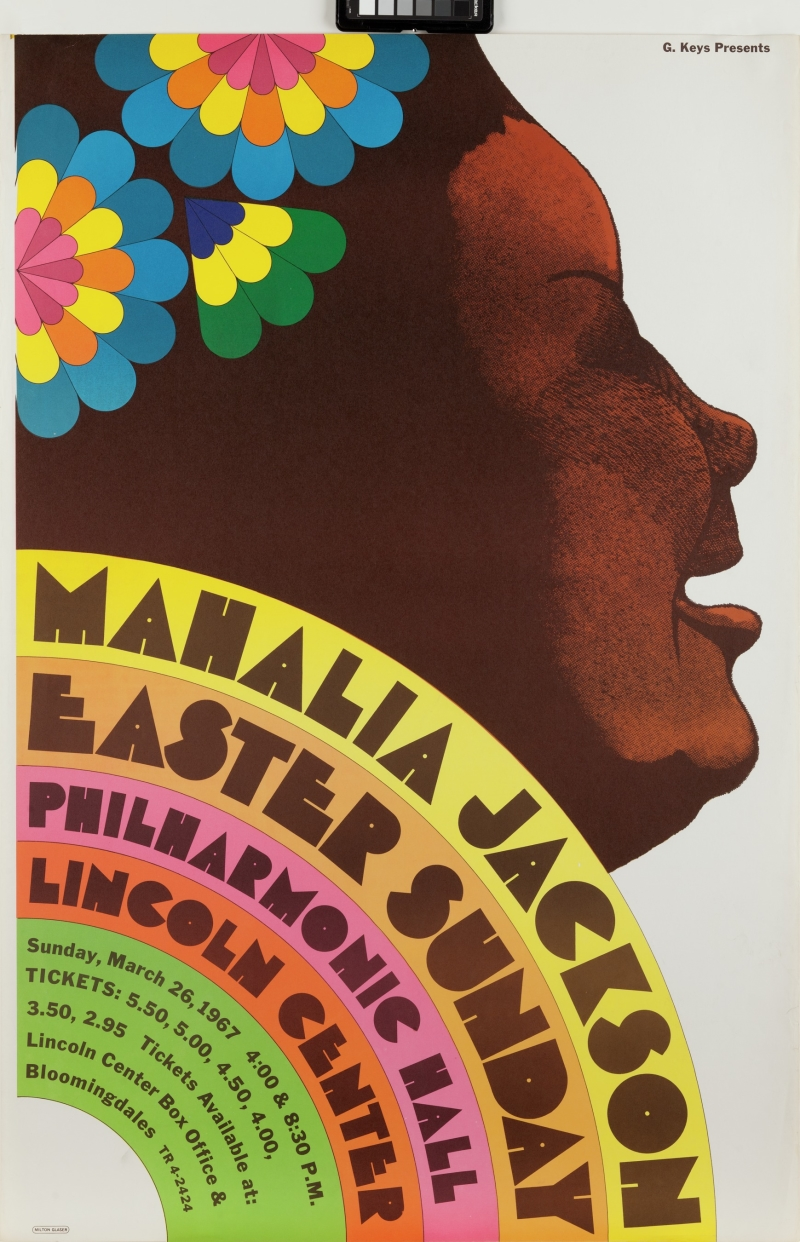 Mahalia Jackson, Easter Sunday, Philharmonic Hall, Lincoln Center