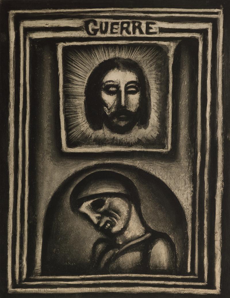 Les Ruines Elles-mêmes Ont Péri; from Folio Miserere