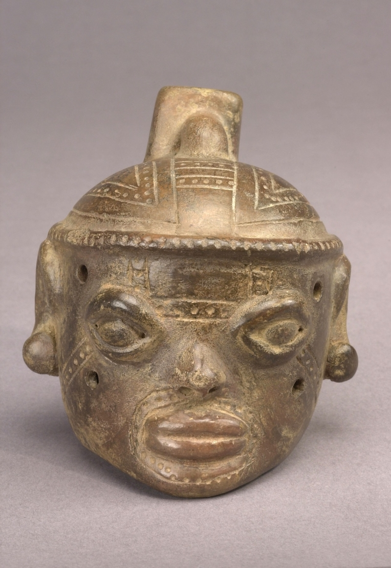 Head-form Ocarina (one of a pair)