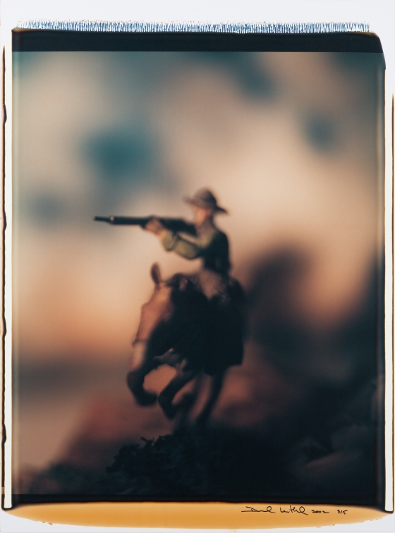 Untitled (Rider on Horseback with Rifle)