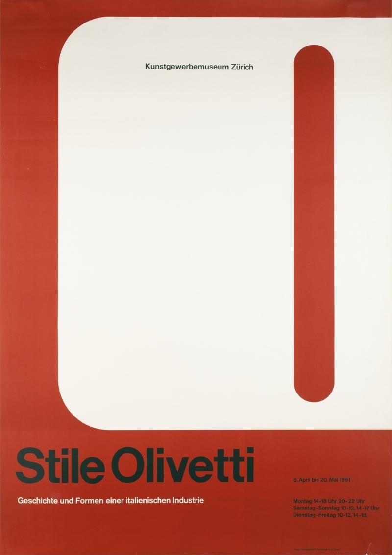 Stile Olivetti: Geschichte und Formen einer italienischen Industrie [The Olivetti Style: History and Forms of an Italian Industry]