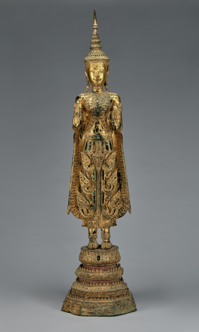 Standing Buddha in Royal Attire
