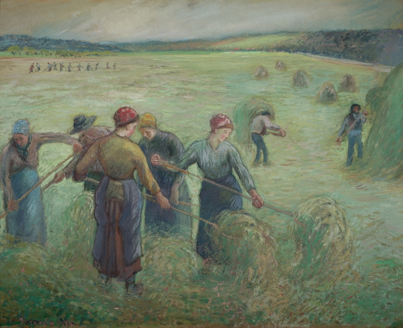 Peasants Harvesting Hay (Les Faneuses)