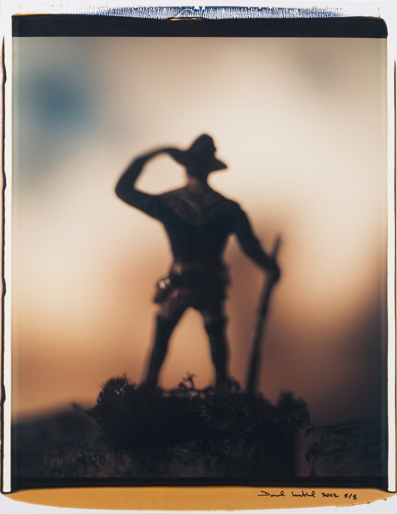 Untitled (Standing Scout with Rifle)