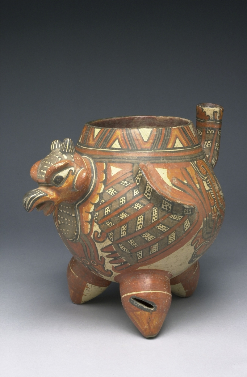 Spouted Eagle-form Tripod Jar