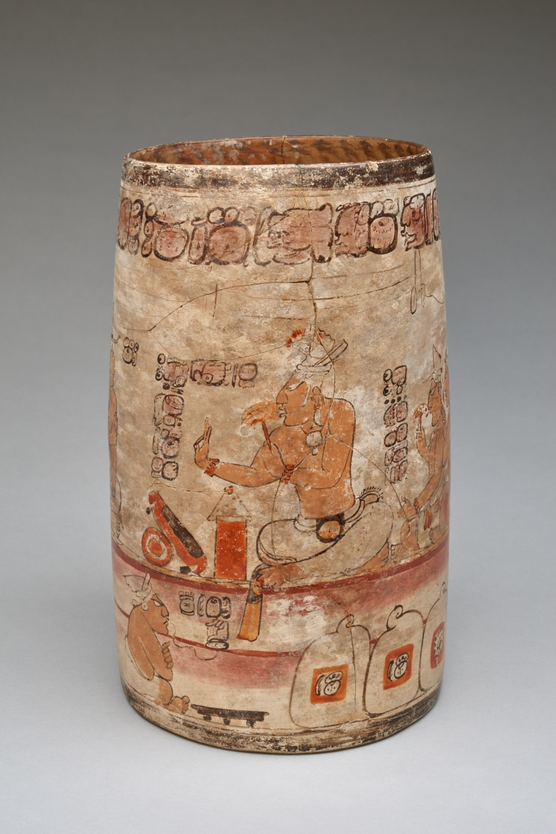 Vessel with Palace Scene