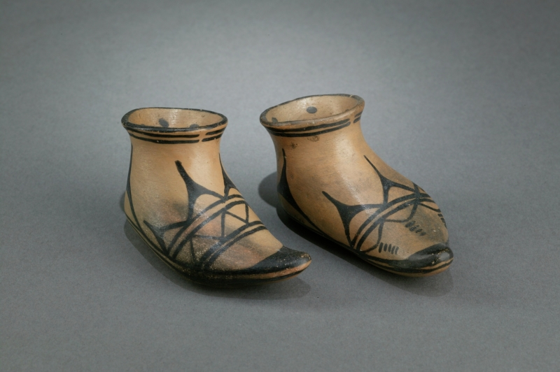 Moccasin figurines