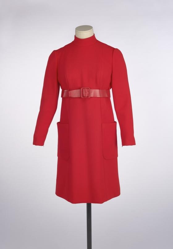 dress; belt