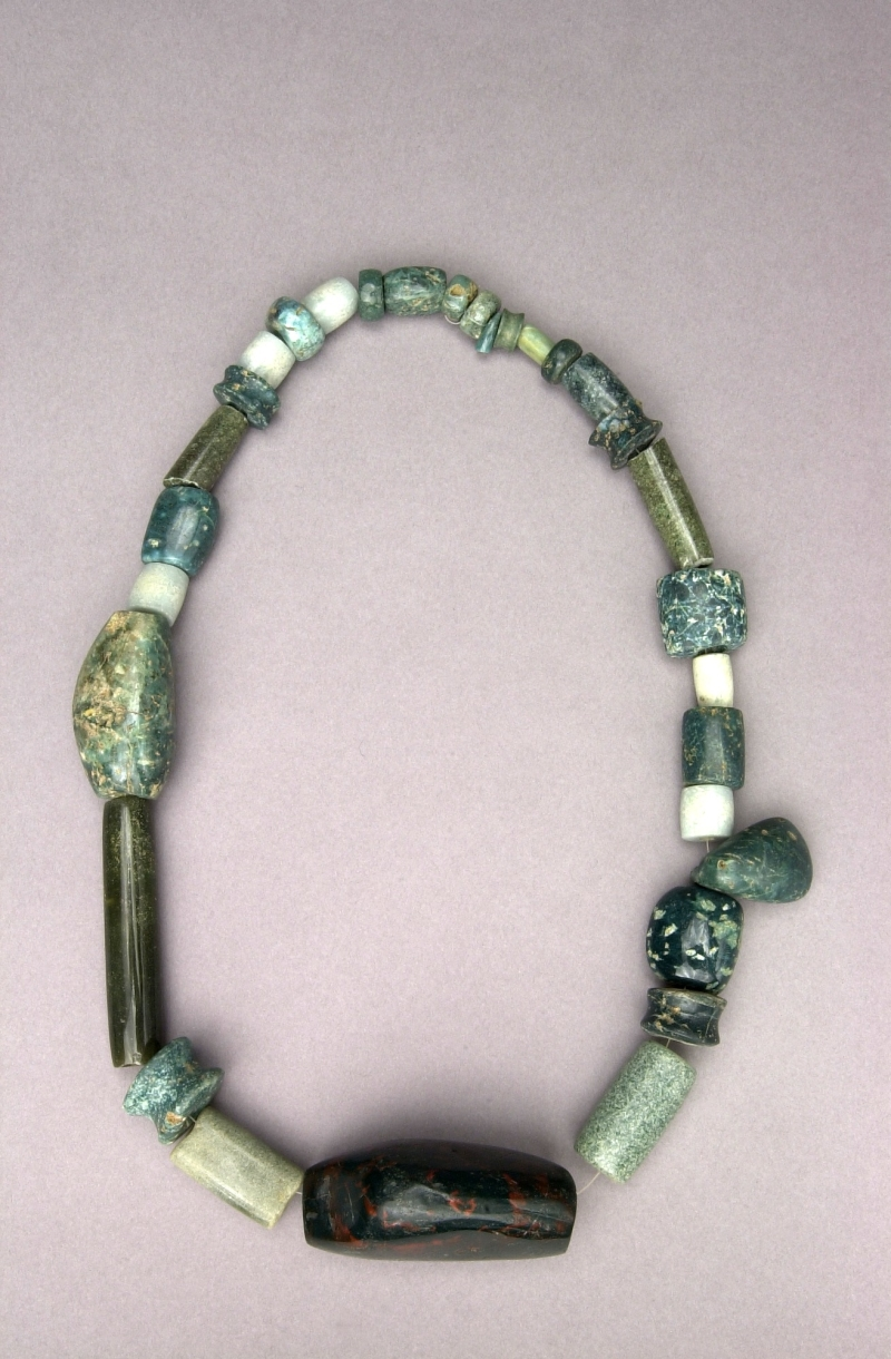 Restrung Necklace of 31 Beads